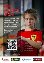 A5 Flyer lerne Handball